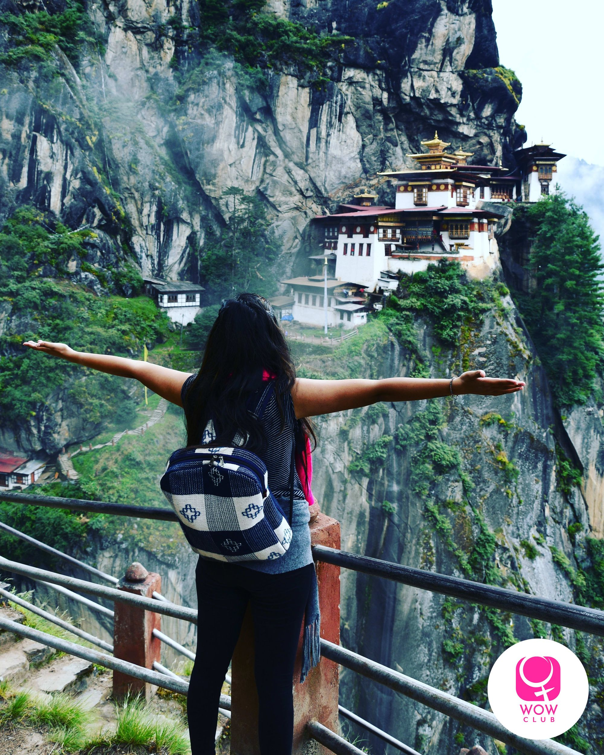 Tigers nest in Bhutan is a great place for an all women solo trip
