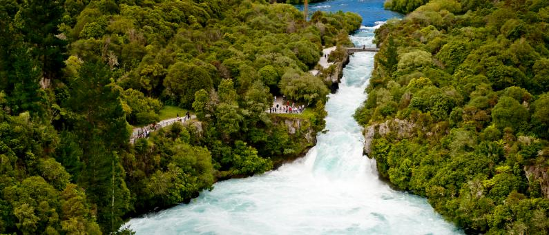 free things to do in taupo huka falls