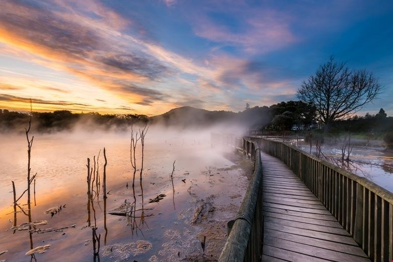free things to do in rotorua kuirau park