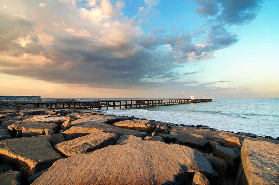 Pondicherry-Giving Time a Break!